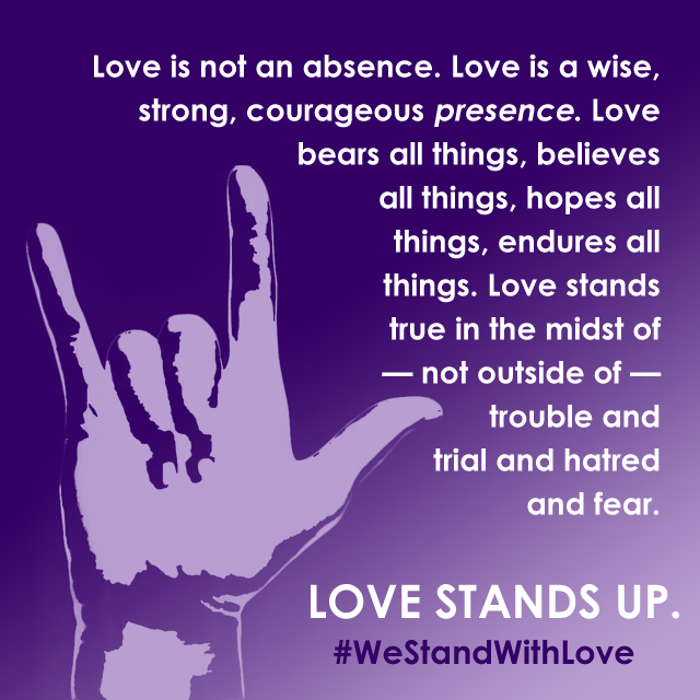 We Stand With on